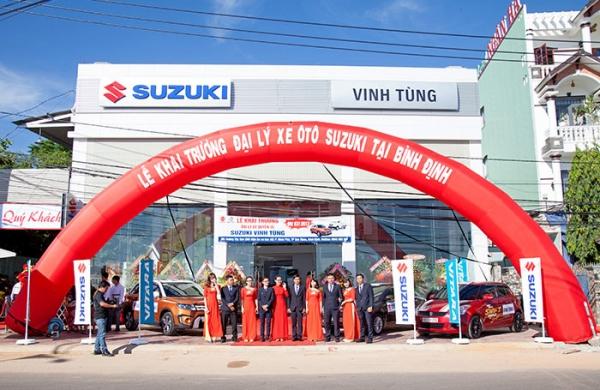 Khai trương showroom ô tô Suzuki Vinh Tùng