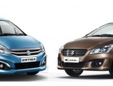Suzuki Ertiga hay Ciaz phù hợp với nhu cầu của bạn