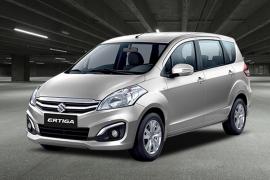 Suzuki Ertiga - mẫu xe gia đình 7 chỗ nổi bật trong năm 2017