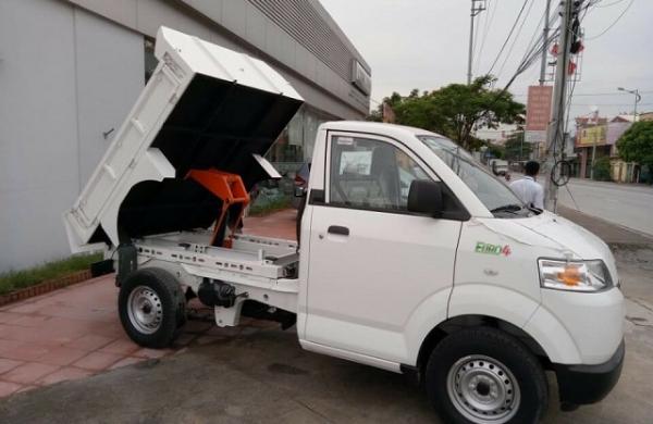 Mẫu Suzuki Pro Thùng Ben Đóng Tiêu Chuẩn