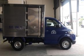 Suzuki Pro Thùng Kín Inox 1 cửa hông